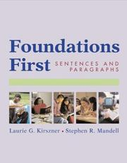 Cover of: Foundations First | Stephen R. Mandell