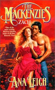 Cover of: The Mackenzies -Zach (Book 8)