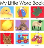 Cover of: My Little Word Book