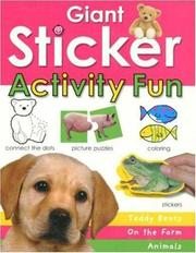 Cover of: Giant Sticker Activity Fun Book
