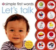 Cover of: Simple First Words Let's Talk (Simple First Words)