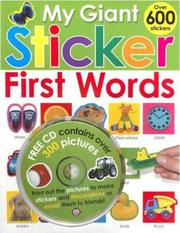 My Giant Sticker First Words