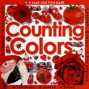 Cover of: Counting colors: Seek & Find