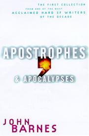Cover of: Apostrophes & Apocalypses