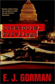 Cover of: Senatorial privilege |