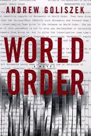 Cover of: World order | Andrew Goliszek