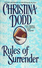 Cover of: Rules of Surrender (Governess Brides, Book 1)