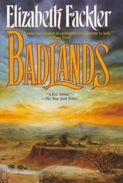 Cover of: Badlands