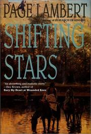 Cover of: Shifting stars | Page Lambert