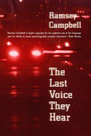 Cover of: The last voice they hear