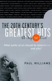 Cover of: The 20th century's greatest hits