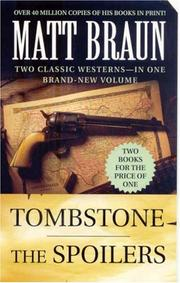 Cover of: Tombstone and The Spoilers (Luke Starbuck Novels)