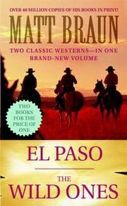 Cover of: El Paso / The Wild Ones