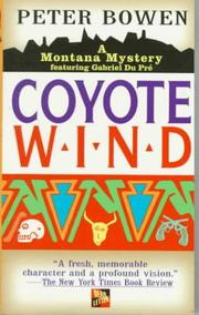 Cover of: Coyote Wind/a Montana Mystery