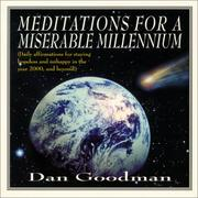 Cover of: Meditations for a miserable millennium