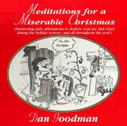 Cover of: Meditations for a miserable Christmas