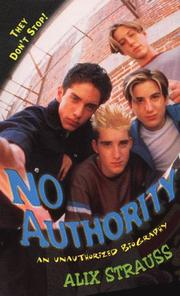 Cover of: No Authority | Alix Strauss