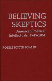 Cover of: Believing skeptics