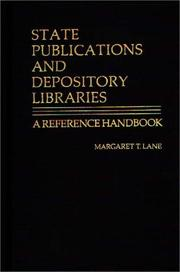 State publications and depository libraries
