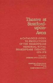 Theatre at Stratford-upon-Avon by Mullin, Michael.