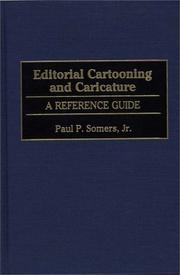 Cover of: Editorial cartooning and caricature | Paul Somers