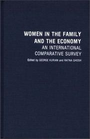 Cover of: Women in the Family and the Economy | George Kurian