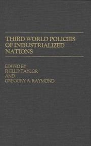 Cover of: Third World Policies of Industrialized Nations |