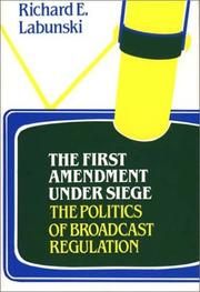Cover of: The First amendment under siege