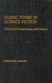 Cover of: Comic tones inscience fiction: the art of compromise with nature