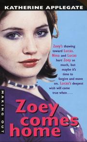 Cover of: Zoey comes home