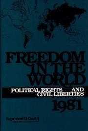 Cover of: Freedom in the World | Raymond D. Gastil