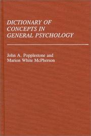 the general concepts of psychology Basic concepts of analytical psychology the new york association for analytical psychology he is a member of the foundation's continuing education faculty.