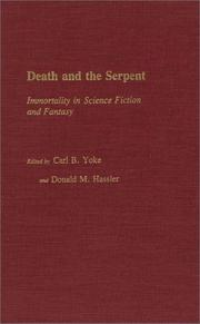 Cover of: Death and the serpent
