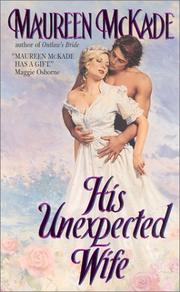 Cover of: His unexpected wife