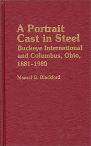 Cover of: A portrait cast in steel