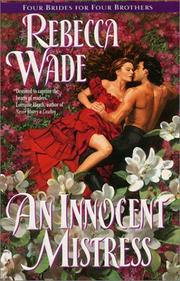 Cover of: An innocent mistress