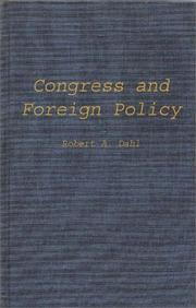 Cover of: Congress and foreign policy