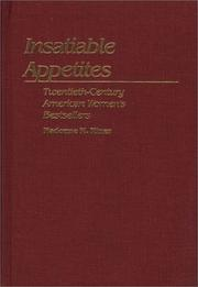 Cover of: Insatiable appetites | Madonne M. Miner