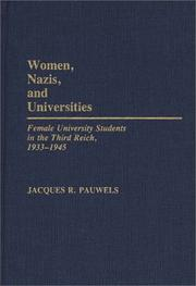 Cover of: Women, Nazis, and universities