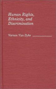 Cover of: Human rights, ethnicity, and discrimination
