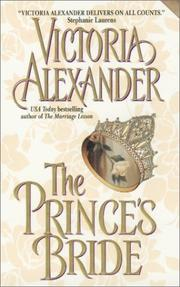 Cover of: The prince's bride
