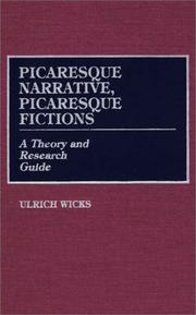 Cover of: Picaresque narrative, picaresque fictions
