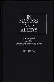 Cover of: In manors and alleys