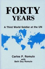 Cover of: Forty years