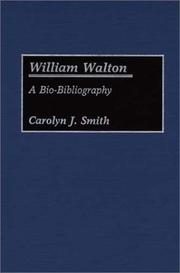 Cover of: William Walton