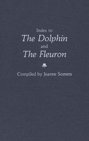 Cover of: Index to The dolphin and The fleuron | Jeanne Somers