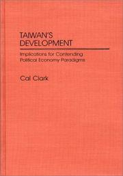 Cover of: Taiwan's development