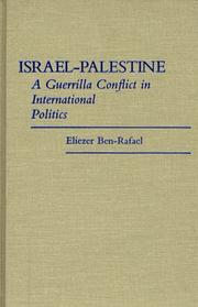 Cover of: Israel-Palestine