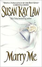 Cover of: Marry Me | Susan Kay Law