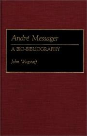 Cover of: Andre Messager | John Wagstaff
